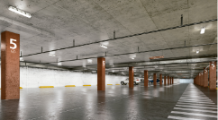Lithonia Lighting Estacionamiento Interior